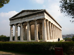 Temple of Hephaestus /    (mitko_denev) Tags: temple ancient athens hephaestus greece archeology