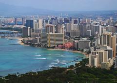 Waikiki view from Diamondhead (Walt K) Tags: hawaii waikiki oahu diamondhead honolulu waltk
