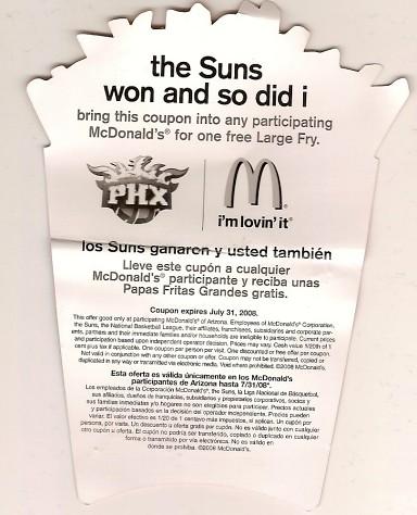 free fries Suns