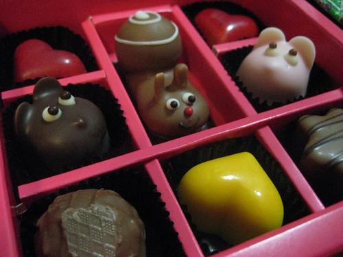 salon du chocolat, Isetan