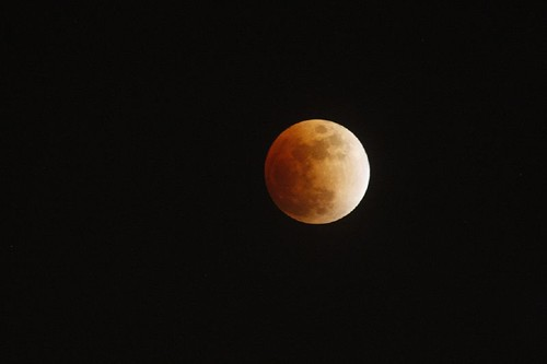 Lunar eclipse on the 20th of Feb 2008