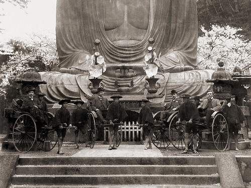 Tourists at Kamakura (1890)