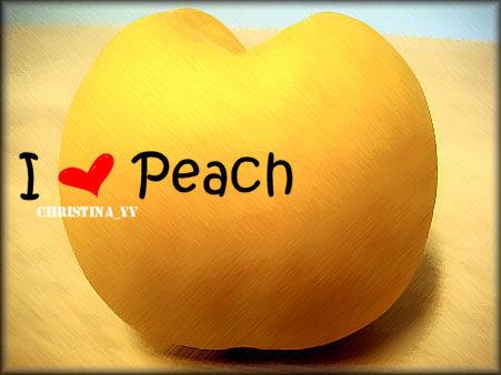 I Love Peach