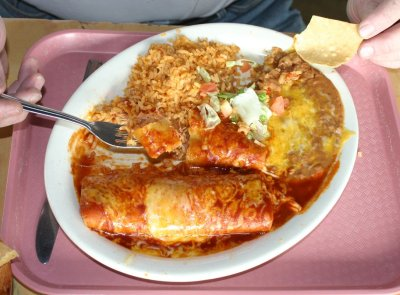 Bobby D's - Chicken Enchiladas