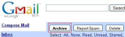 Sea productivo: Archivar