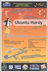 Ubuntu Hardy Rilis Party Poster (Final)