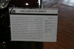 1932 Lancia Dilambda (derekgottlieb) Tags: 1932 lancia lanemotormuseum dilambda