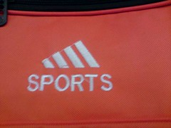 Another adidas-like logo (Chinese Copies) Tags: china sign logo fun funny joke pirates chinese bad fake pirate illegal piracy faux mistake chinglish adidas typo brand copy cheat kopie pirated counterfeit imitation knockoff marque copying copie flschung kopieren nachgemacht produktpiraterie productpiracy markenpiraterie  trademarkpiracy aboutchinaproductpiracy|trademarkpiracy