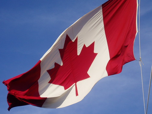 Canadian flag by RicLaf
