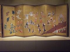 Bugaku Dances by Hanabusa Itch (peterjr1961) Tags: nyc newyorkcity newyork art japan museum japanese met themet metropolitanmuseumofart  foldingscreens bybu