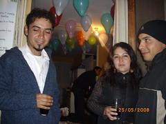 Mis primos La Dani, Mauro y Caco (xikis_anto) Tags: van cumpleaos andres damme