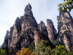 China Travel - Zhangjiajie, Hunan  (Lao Wu Zei) Tags: china travel nature photos unesco 200views favourite   hunan worldheritage  zhangjiajie