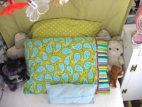 Peety's pillowcase