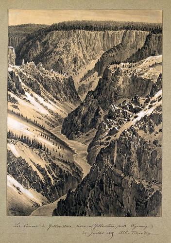 015- Cañones del rio Yellowstone -Wyoming