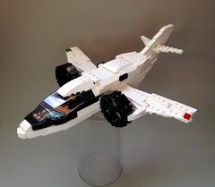 XTI Trifan 600 ([thatjuan]) Tags: lego private jet vtol trifan 600 xti ducted fan