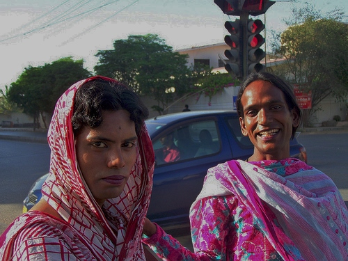 Eunuchs in Karachi  Sindh  Pakistan   March 2008