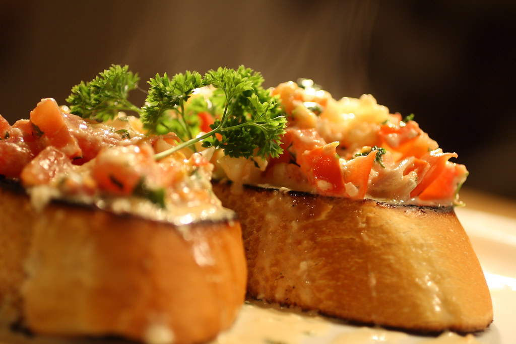 4513343969 15615b6afc b Garlic Shrimp Bruschetta