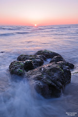 _DSC3011 ( Marco Carotenuto ) Tags: light sunset sea italy panorama sun rome roma nature beautiful rock relax photography nikon italia tramonto mare natura marco pace bella nikkor sole roccia spiaggia luce lazio filtro regione scoglio ladispoli gnd8 1024mm carotenuto d300s