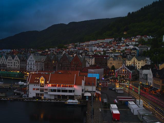 Bergen at Dusk