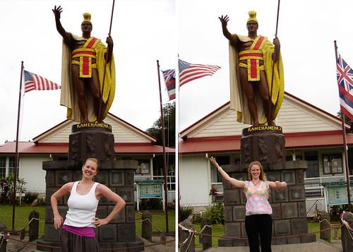 original king kamehameha statue