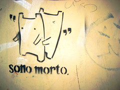 stencil graffiti from firenze