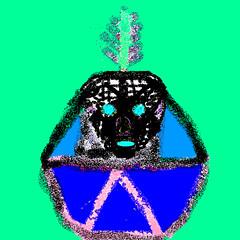 Sometimes misunderstood (gurdonark) Tags: face eyes animation decal symbolism