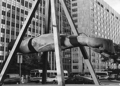 """Memorial to Joe Louis,"" (Full View)--Detroit MI by pinehurst19475"