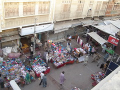Shahi Bazar, Hyderabad, Sindh. (Masd) Tags: street old city pakistan architecture asia market hyderabad sind sindh bazar masd hyderabadsindh shahibazar