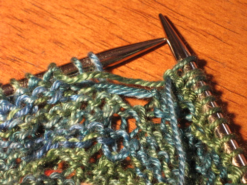 swallowtail shawl purlerror