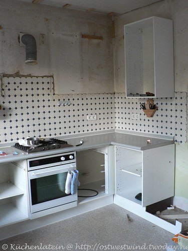 Küchendemontage für Küchenrenovierung 003