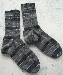 Lichen Ribbed Socks