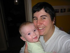 my 4-month-old and me