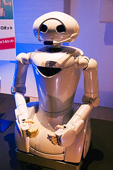 One of Toyota's latest robot models