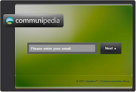 Communipedia Landing Page Realigned