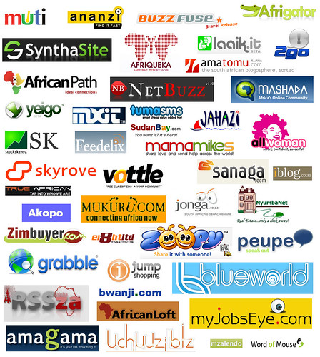 Africa's Web 2.0 Sites (updated)
