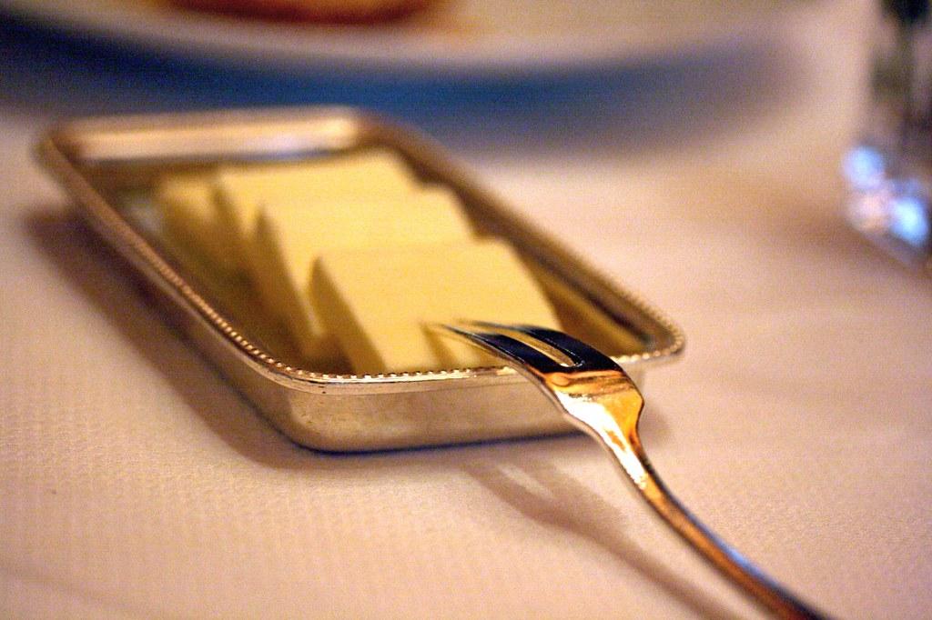 Soft butter...