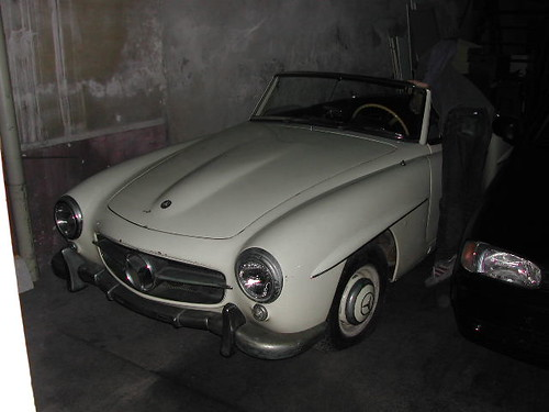 Mercedes Benz 190 sl 1956