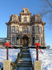 Gaar Mansion at Christmas