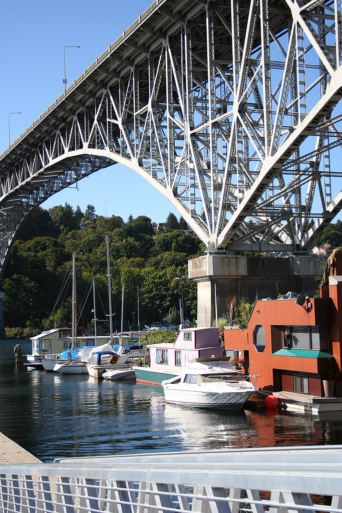 Aurora Bridge & Seattle Housboats