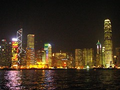 Central at Night, Hong Kong (Snuffy) Tags: hongkong central victoriaharbour neverbeenthere wowiekazowie