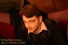 David Degrelle, PDG de 1ere-position.fr et organisateur du SEOcamp