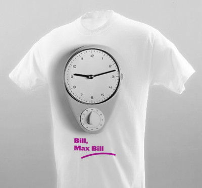 Pink Land T-Shirts: Max Bill