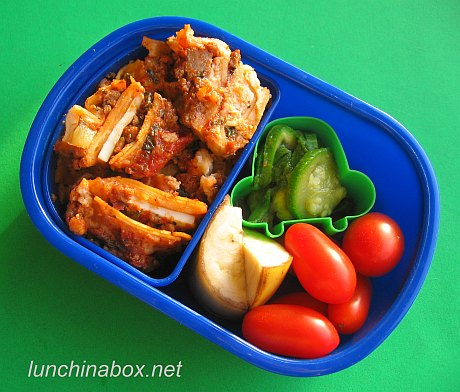 Lasagna & pizza bento lunches