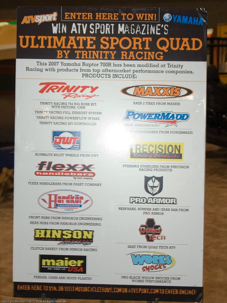 Ultimate Sport Quad Table Poster