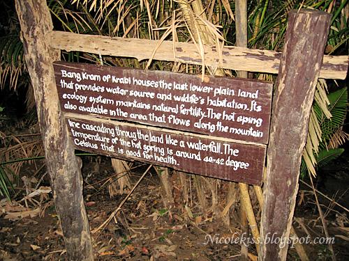hot spring notice