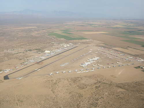 Pinal Airpark (Marana) as I pass by