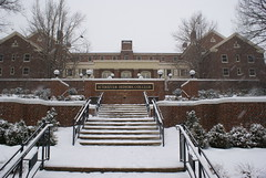 Snowy day at the SHC