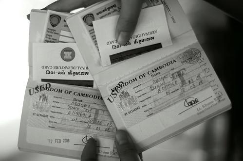 Visa to Kingdom of Cambodia