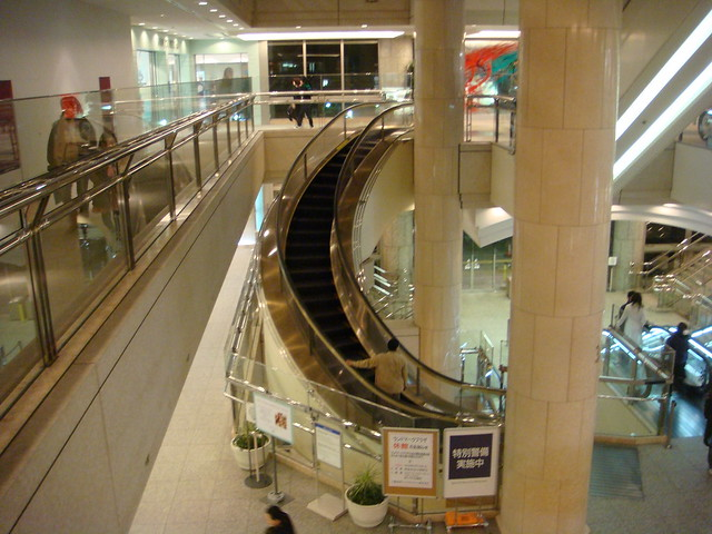 Escalator in Japan