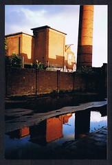 spiegeling oude pijp 2004 (Lieve Blauwling) Tags: rozendaal